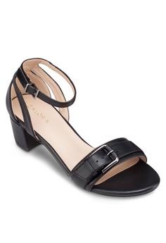 Buckle Strappy Block Heels