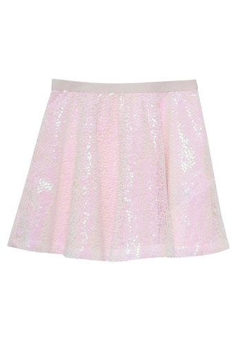 Du Pareil Au Même (DPAM) pink Sequin Skirt 8CB24KA56A2AF9GS_1