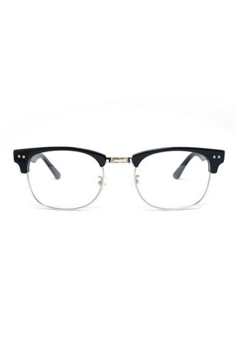 眉架鏡框│黑色 X 銀色│M1054-C4, 飾esprit 品牌品配件, 眼鏡