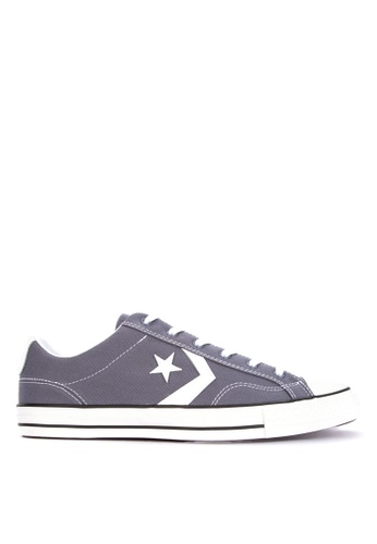 Converse grey Star Player Canvas Sneakers 03CFASHCFCB283GS_1