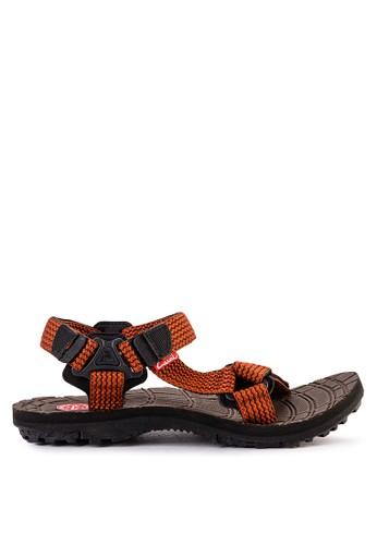 CARVIL multi and brown Carvil Sandal Sponge Gunung Man Esperanto Brown Terracott 8D6E7SHB4467D9GS_1