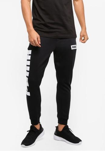 Puma black Rebel Sweat Pants PU549AA0SWJPMY_1
