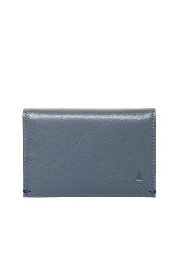 Gnome and Bow grey Maecenas Card Holder 704FCACF7BCF0CGS_1