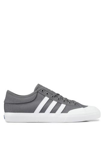 adidas grey adidas matchcourt AD372SH0SSO3MY_1