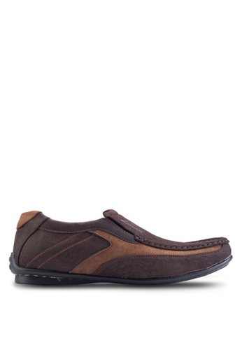 Louis Cuppers brown Classic Loafers LO977SH48ZKXMY_1