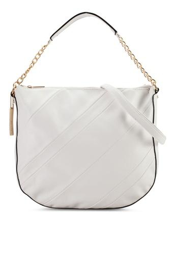 Perllini&Mel white Faux Leather Single Handle Bag PE444AC35WFSMY_1