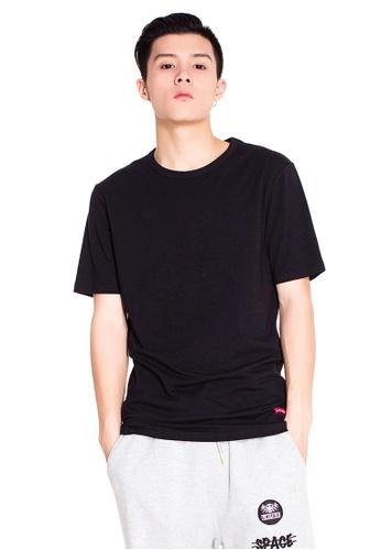 Reoparudo 黑色 兩件裝 RPD 品牌純色T恤(黑色) 78E73AAC2C2E49GS_1