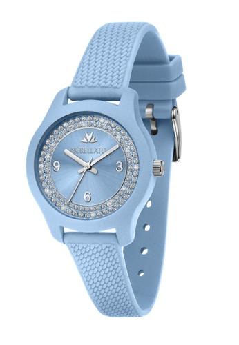 Morellato blue Morellato Soft Light Blue Silicon Strap Ladies' Watches R0151163510 9096EAC0B1CA7EGS_1