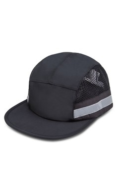 Nylon 5 Panel Cap With Reflective Trim