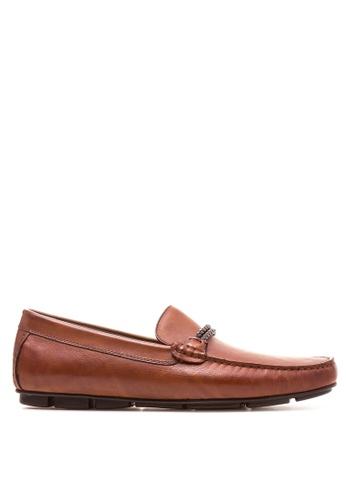 ALDO brown Fildes Loafers AL087SH76UFNPH_1