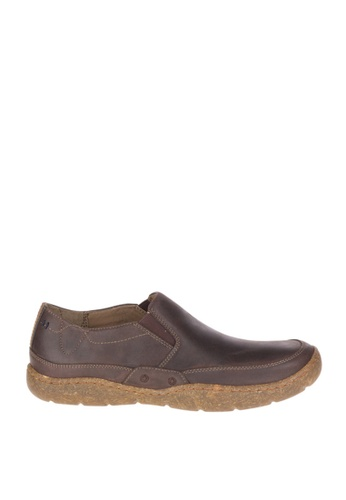 Hush Puppies brown Fernando Sway Casual Shoes HU326SH0JJIRPH_1