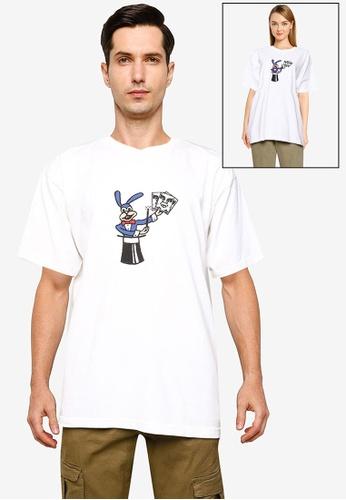 OBEY white Obey Cheap Trick T-Shirt 83D54AA2056BC3GS_1