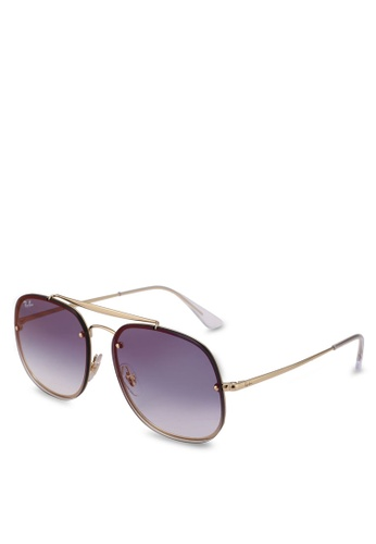 Ray-Ban gold RB3583N Sunglasses 73AC8GLE190E68GS_1