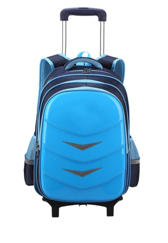 Twenty Eight Shoes blue VANSA Nylon Cart Backpacks VAK-Bp88192 D6D5AKC395939BGS_1