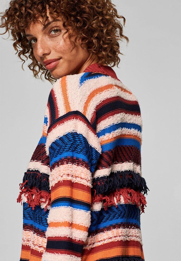 ESPRIT Red Sweater Cardigan Sleeve Long q6f6xF8X