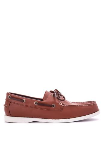 H2Ocean brown Truman Boat Shoes H2527SH0KAJ7PH_1