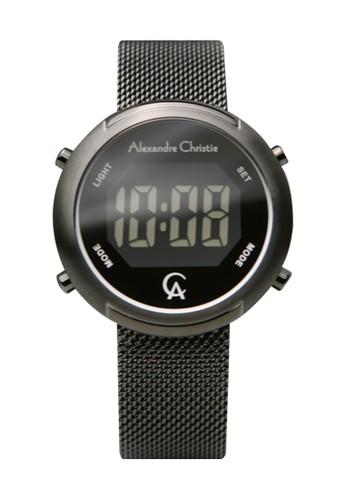 Alexandre Christie black Alexandre Christie 9337 - Jam Tangan Wanita - Stainless Steel - Full Hitam 00F07ACE64DC7EGS_1