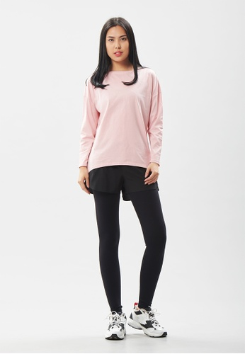 AVIVA pink AVIVA Noah Easy Wear Long Sleeve Top B10FCAAAEE25A1GS_1