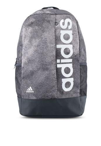 adidas grey adidas lin per backpack AD372AC0SUIEMY_1