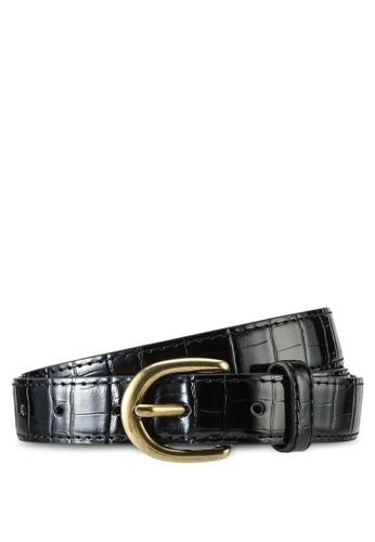 LOWRYS FARM black Croc Belt F02D6AC82DB875GS_1