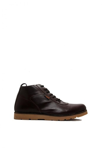 D-Island brown D-Island Shoes Signore Boots Genuine Leather Dark Brown DI594SH0VAV2ID_1