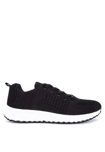 Appetite Shoes black Lace Up Sneakers F7CEESHA05E4A7GS_1