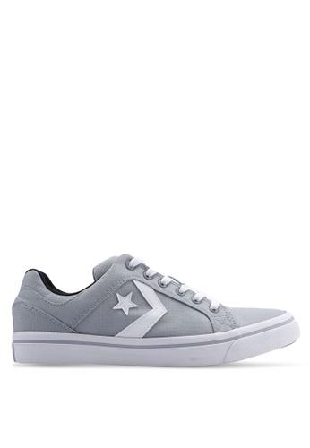 Converse grey El Distrito You Got Next Ox Sneakers 93EBBSH5345AB2GS_1