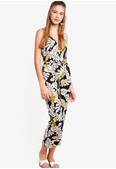 4e56edd0f7 35% OFF Something Borrowed Buttoned Down Tapered Jumpsuit RM 109.00 NOW RM  70.90 Sizes XS S L