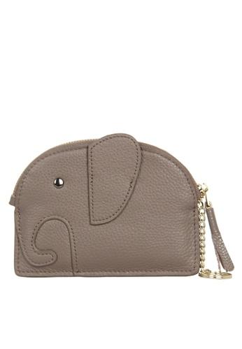 HAPPY FRIDAYS Zipper Leather Mini Wallet JN2161 0A0E8AC4968981GS_1