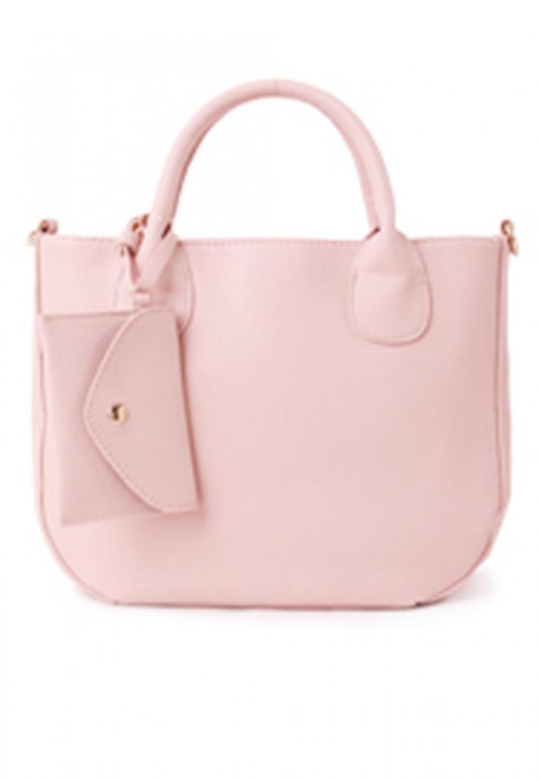 Simple Shapes Satchel Bag