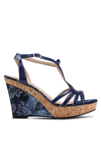 Divine Factory blue Marnie Wedges 23040SHDA0FBC0GS_1