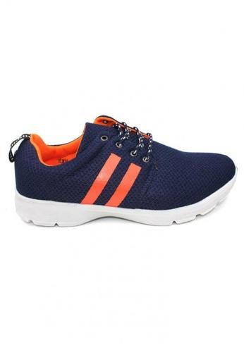 midzone navy Extra Size Sport Sneaker MI949SH78XWFMY_1