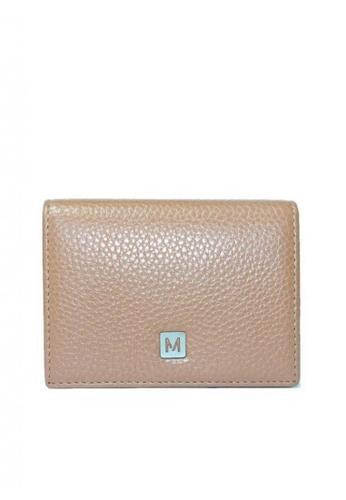 Mc Jim beige Montegani Card Holder CBDDDAC638DA84GS_1