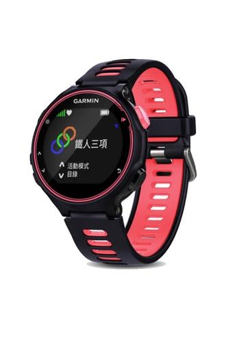 Garmin Forerunner 735XT Purple/ Sharp Coral - Taiwan 1C136ACAAE3FBBGS_1
