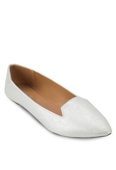 Delta 尖頭平底鞋