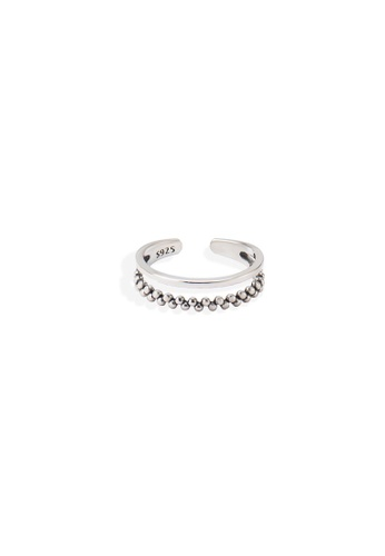 A-Excellence silver Premium S925 Sliver Geometric Ring 2F549ACCB4F6DAGS_1