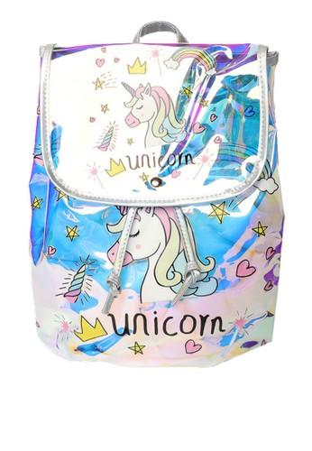 STROBERI n/a Stroberi Star Hologram Unicorn Backpack 3A57EKCAFA4A44GS_1