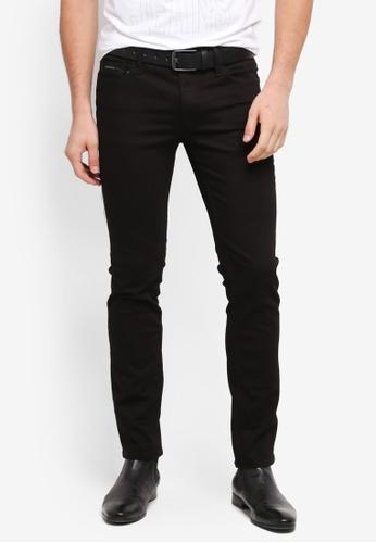 Calvin Klein 黑色 緊身窄管牛仔褲 07CA2AA0EC579AGS_1