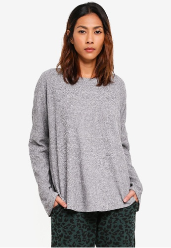 Cotton On Body grey Super Soft Relaxed Crew Top F98D8AAA510913GS_1