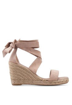 a8fec7da5bb ALDO brown Larieven Tie Up Wedges 55EE2SH3879816GS 1