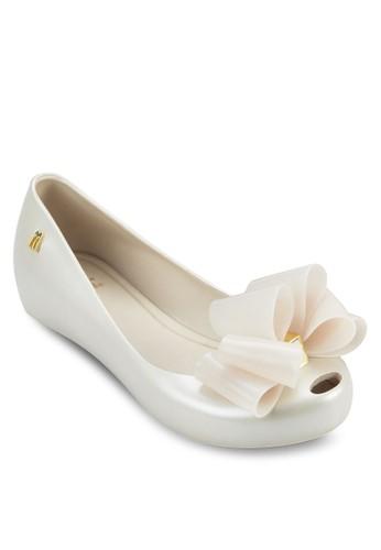 Ultragirl 少年立體京站 esprit蝴蝶結平底鞋, 鞋