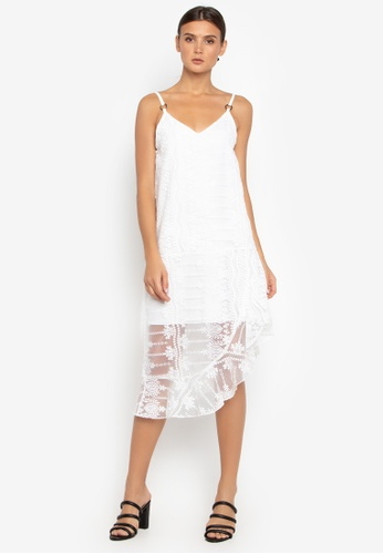 Susto The Label white Zula Embroidered Dress AD9EDAAF66F497GS_1