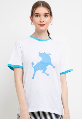 Lois Jeans white Jersey Slub T-Shirt KSC650 74769AAABF5577GS_1