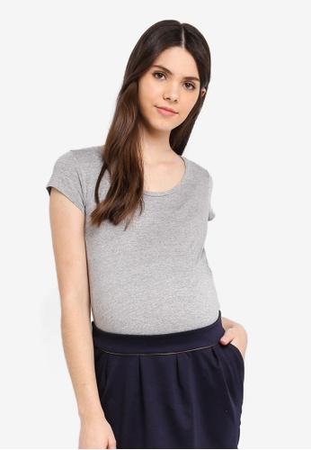 Envie De Fraise grey Maternity Katia Top D069BAAA8A7D7EGS_1