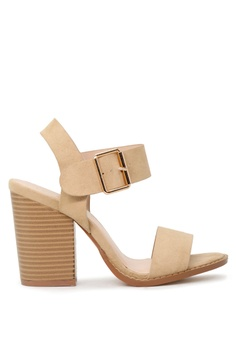 f01c74cdfa London Rag beige Ankle Strap High Heel Sandal 584C8SH12A3F78GS_1