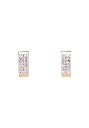 Mestige 金色 金色 Rosie Cuff 耳環With Swarovski Crystals F46B0AC9F32185GS_1