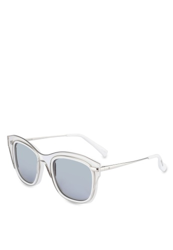 BLANC & ECLARE white Dubai Sunglasses 343EEGL5D48F3AGS_1
