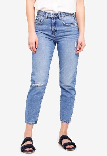 ICHI blue Nti Gulip Blue Jeans 9FE26AA73E6462GS_1