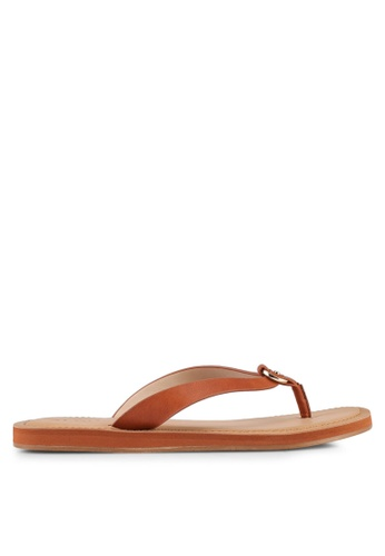 ALDO brown Prelinna Flat Sandals 4027CSH421D6DDGS_1