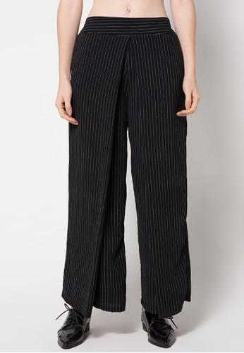 sophistix black Striped Pants In Black SO829AA31XTGID_1